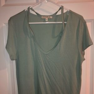 Express T with cut out top